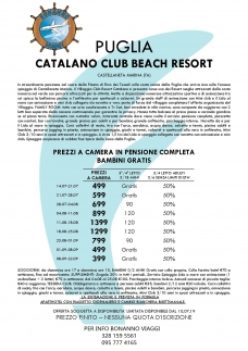 Catalano Club Beach Resort